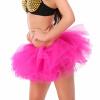 женская юбка розового туту, очень сексуально многоуровневые мини - тюль юбки дамы девочек свадьбу балет короткий мяч платье платье юбки evrika юбка женская вектра