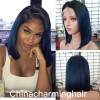 bob шнурок передний парик для черных женщин ombre 1b синих бразильских человеческих волос Парики Silk прямые человеческие волосы парики с детскими волосами