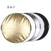 PULUZ 60 см 5 в 1 (серебристый / прозрачный / золотой / белый / черный) Складная фотостудия карандаш фотостудия москва