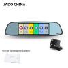 JADO D580 Автомобильный видеорегистратор Камера Full HD 1080 P Автомобильные видеорегистраторы Двойной объектив Регистраторы 6.86 видеорегистратор intego vx 410mr