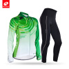 NUCKILYВесна / Осень Велоспорт Одежда Женщины с длинным рукавом Полиэстер Велоспорт спорта Джерси с длинными брюки Set GH002GM001