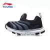 Li Ning детская обувь детская гусеница детская обувь для мужчин и женщин детская детская спортивная обувь YKAN036-1 Ning snow / Flint blue 30 LI-NING KIDS