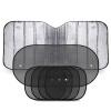 Внедорожник переднего солнцезащитного экрана солнцезащитный козырек 70 * 140 переднее стекло лобового стекла изоляция складывание алюминиевый солнцезащитный крем солнцезащитный экран