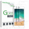 iPhone 8, 7, 6S, 6 Screen Protector Glass, закаленное стекло для экрана Apple iPhone 8, 7, iPhone 6S 6 [4,7 дюйма] (2-Pack) benks 0 3mm okr pro shatterproof glass screen protector for iphone 6 4 7 black