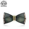 Royal Сальса (Royalsasa) головной убор украшения обжимной зажим держатель пружины верхнюю пластину, изготовленную из акрилового хрусталя зажатой Masson темно-зеленый