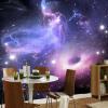 Пользовательский любой размер 3D обои настенные обои для спальни для спальни Современные абстрактные звезды Вселенной Galaxy Living Room Потолочные обои 3D