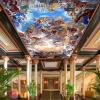 Пользовательские большие 3D-потолочные обои для рабочего стола Европейский стиль Retro Hotel Lobby Living Room Decor Angel Photo Потолочные обои Фрески бар потолочные фрески