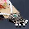 Новые турецкие женщины полые цветок кулон Strand ожерелье античный золотой цвет смолы бусинка длинный мотаться ожерелье богема рет женский кулон soul diamonds золотой кулон с бриллиантами buhk 8280 14ky
