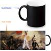 Королева 350 мл / 12 унций Тепловыражение Кружка Изменение цвета Чашка кофе Чувствительные морфинговые кружки Волшебная чашка для чайных чашек кружка кофе 350 мл nuova r2s s p a кружка кофе 350 мл
