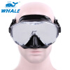 Whale Scuba Diving Snorkeling Electroplating Frameless Mask russia canned fish