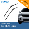 SUMKS Wiper Blades for SEAT Exeo 22&22 Fit Slider Arms 2008 2009 2010 2011 2012 2013 f r brake pads set for malaguti 125 160 ie blog ie160 2010 2009 2011