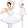 Взрослые Профессиональные Лебединое Озеро Туту Балетный Костюм Жесткий Органза Блюдо Юбка Танцы Платье 6 слоя
