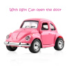 Cool Toy Car Die-casting alloy car back Sound And Light Toy Car Can Open The Door Car Styling Classic Cars Car model Kids Toys with package 8 styles transformation robot cars and prime toys action figures classic toys for kids christmas gifts