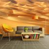Custom 3D Stereo Mural Современные простые желтые пустынные фотообои Theme Hotel Restaurant Living Room Nature Wall Painting Decor цена
