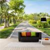 Пользовательские 3d фрески Свежий природный зеленый парк путь роспись гостиная лобби спальня ресторан фреска офис украшение обои лобби ресторан