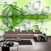 Последние высококачественные бамбуковые настенные обои Классические Современные Простые Гостиная Прикроватная отделка Интерьер Декор Фрески Papel De Parede 3D бамбуковые обои каширский двор 3
