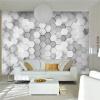 Пользовательские фото Обои для рабочего стола 3D стереоскопические геометрические обои Офисный диван Гостиная ТВ Фон Фреска Обои для стен 3d декор для стен