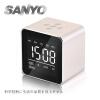 SANYO Беспроводный Bluetooth Электронный Музыкальный Будильник, LED Спикер