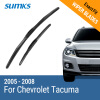 SUMKS Wiper Blades for Chevrolet Tacuma 24&19 Fit Hook Arms 2005 2006 2007 2008 fxcnc aluminum motorcycle steering stabilizer damper mounting bracket support kit for yamaha fz1 fazer 2006 2015 2007 2008 09