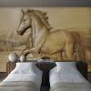 Пользовательский любой размер 3D стереоскопический рельеф Лошадь фон Фото обои для гостиной Диван Спальня Стена Art Mural De Parede 3D