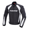DUHAN Men's Motorcycle Jacket Moto Windproof Racing Jacket Clothing Защитное снаряжение с пятью защитными гвардейскими мотоциклетн men motorcycle racing jacket motocross moto jean jacket protective riding chaqueta windproof moto protection denim jacket