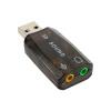 аудио - гарнитура для наушник впк usb 2.0 микрофон джек конвертер адаптер huayuan usb звуковой карты 7 1 канал 3d аудио звуковой карты впк адаптер 3 5mm джек стерео гарнитура для winxp 7 8 android linux для mac