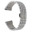 22mm Кристалл Rhinestone Diamond Watch Band Нержавеющая сталь Наручный ремешок для Samsung Gear S3 Classic Gear S3 Frontier смарт часы samsung gear s2 black