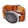 22мм неподдельный кожаный браслет ремешка застежки -молнии для Samsung Gear S3 Frontier / S3 Classic смарт часы samsung gear s2 black