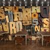 3D фото обои 3D стерео ретро алфавит головоломка большая роспись европейский стиль кофе ресторан магазин чая роспись обои обои для рабочего стола 3d стерео книжный шкаф книжная полка случайный кофе ресторан кабинет кабинет большой роспись обои