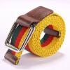Hot sale unisex canvas belt designer belts men high quality women belts cummerbunds bicyclic buckle elastic stretch fabric women secret women secret wo004ewnpm26
