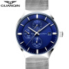 GUANQIN Часы Мужские часы Повседневная мода Кварцевые часы водонепроницаемые часы календаря