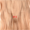 Wavy Clip in Hair 4 Clips 190g/pc Heat Resistant Fiber 24 inch Stretched Pure Color Synthetic Hair Extensions for Women medium long wavy heat resistant fiber hair white lace front synthetic wig
