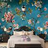Фотообои 3D Стерео китайские цветы Птицы Mural Спальня Гостиная Новый дизайн Текстуры Обои Papel De Parede Цветочные 3D в бресте китайские нокии е 71 тв новый