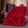 Brata Свадебное одеяло Шелковая ленточная вышивка Утолщенная оправа Raschel оправа pavli оправа pavli 8205 с11