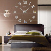 3D настенные часы безрамные Современные зеркальные металлы Большие настенные наклейки Часы настенные часы Room Home Decorations часы настенные magic home часы настенные натюрморт