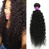 Malaysian Kinky Curly Virgin Hair 3 Bundles Natural Black 100g 100% Unprocessed Malaysian Kinky Curly Virgin Hair Malaysian Hair unprocessed malaysian deep curly lace