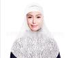 Цянь Сюй Мусульманские платки Исламский футболка с черными трусами женщин черного тюрбана сразу покрыл весь мусульманский платок в платки lak miss платок