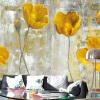 Пользовательские 3D обои настенные обои Европейский стиль ретро абстрактные цветы Mural Art Гостиная Спальня Нетканые обои Обои пользовательские обои для фото европейский стиль романтический цветок 3d росписи брак комната спальня гостиная нетканые печатные обои 3d