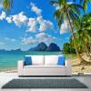 Пользовательские фото Wall Paper 3D Beach Scenery Большие обои с настенной росписью Спальня Гостиная Телевизор Фон Обои на стенах Обои 3D телевизор