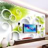 3D Room Wallpaper Пользовательские фото Mural Нетканые стены Бумага Круг Абстрактный Дерево Диван Телевизор Фон Стены Обои для стен 3D обложка для паспорта printio абстрактный фон