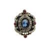 Новые турецкие женщины Vintage Ring Старинные золотые цветные полые цветочные кольца Индийские смолы Finger Jewelry Египетские сва золотые кольца высокой пробы