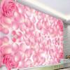 Бесплатная доставка Красивые лепестки роз лепесток спальни спальня гостиная гостиная самоклеящаяся напольная роспись 250cmx200cm