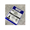 High quality For Nos N2o Reflective car sticker and decals cool modified accessories blue buy two get one free motorcycle styling wheel hub tire reflective sticker car decorative stripe decal for yamaha honda suzuki