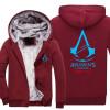 Новый костюм убийцы Unise для Assassin Creed Unity напечатайте Hoodie 2018 горячие мужские пальто зимы флиса свободную перевозку г новый костюм убийцы unise для assassin creed unity напечатайте hoodie 2018 горячие мужские пальто зимы флиса свободную перевозку г