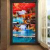 Пользовательские фото Обои на рабочий стол 3D Водопады Природа Пейзаж Обои Гостиная Ресторан Ресторан Вход Прихожая Фон 3D Mural европейский ресторан