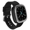 Часы Newman M2 Bluetooth Smart Watch Водонепроницаемые Мужчины и женщины Здоровый сердечный ритм Браслеты Браслеты Элегантный серебристый браслеты