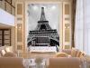 Обои для рабочего стола Парижская башня черно-белые пейзажи 3D-спальня с гостиной для гостиной