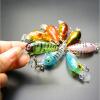 Vanker 4,5 см мини наживки ловить рыбу комплект рыболовные снасти crankbait приманки crank приманки набор 5шт