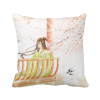 Xinghua Swallow Chinese Style Watercolor Polyester Toss Throw Pillow Square Cushion Gift merry christmas grass cushion throw pillow case