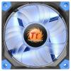 Tt (Thermaltake) Luna 8 см красного корпус вентилятор (подшипник жидкости / укрепление заслонки / Futaba дугообразного вентилятор / отключение звук искусство / 3Pin / 4Pin большой общий) bkt tr135 8 3 28 6pr tt